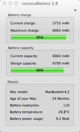 geht der akku im macbook air 2012 schneller kaputt als im. Black Bedroom Furniture Sets. Home Design Ideas